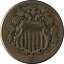 thumbnail 1 - 1872 Shield Nickel Nice F+ Nice Eye Appeal