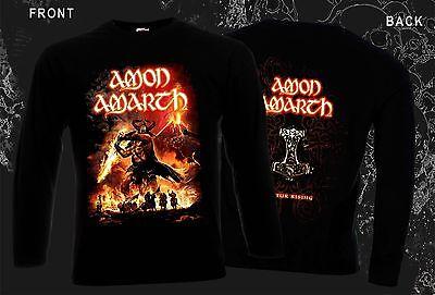 T-shirt sizes S to 6XL Swedish death metal band AMON AMARTH Surtur Rising