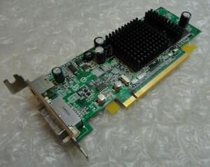 64MB Dell 0K4525 K4525 Ati Radeon X300SE Pcie DVI VGA Pcie Carte Graphique