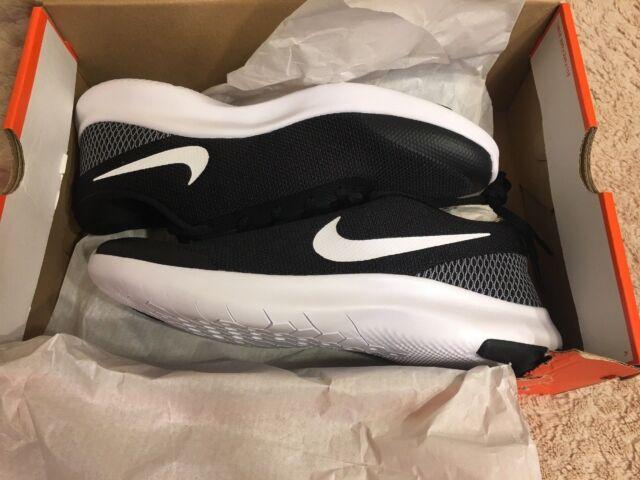 210b987369ac Nike Flex Experience RN 7 Mens Size 9.5 Medium D m Black White Running Shoes