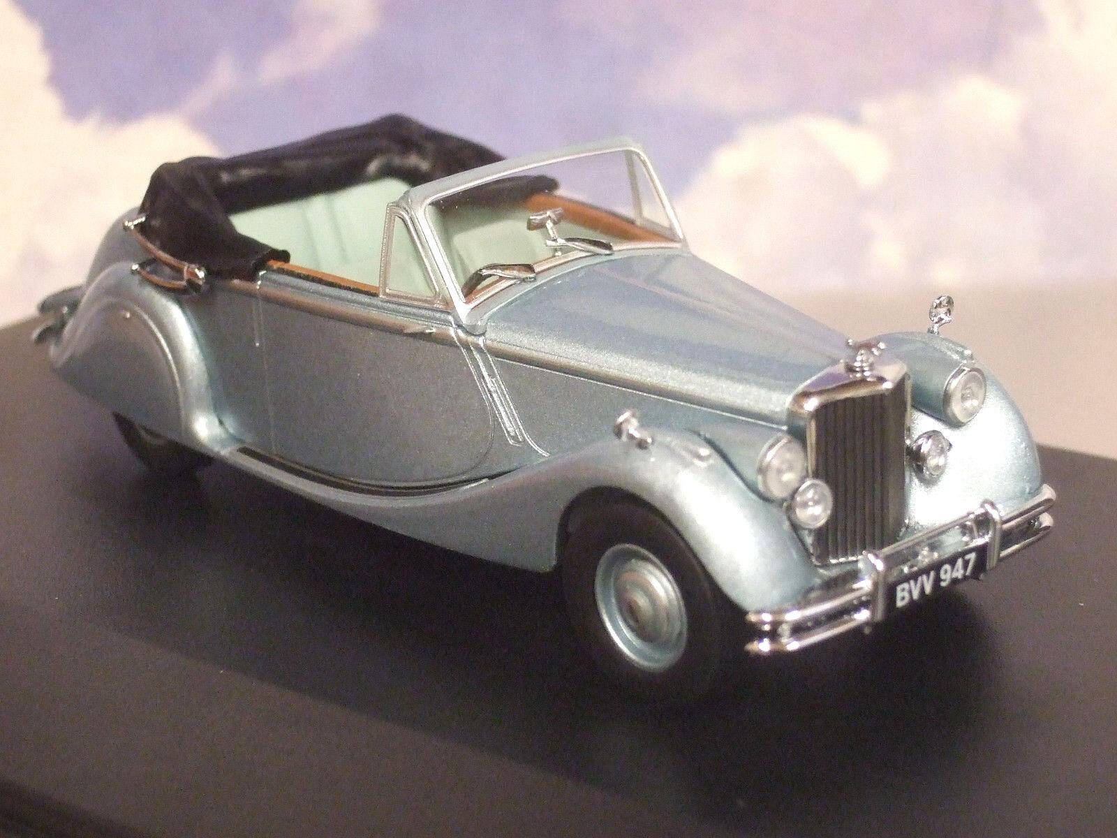 Oxford 1 43 1948-1951 Jaguar Mkv Mk5 Ouvert Dhc Opalescent Argent Bleu 43jag5001
