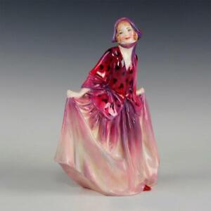 Vintage-Royal-Doulton-Art-Deco-Porcelain-Figurine-034-Sweet-Anne-034-HN1496-1932