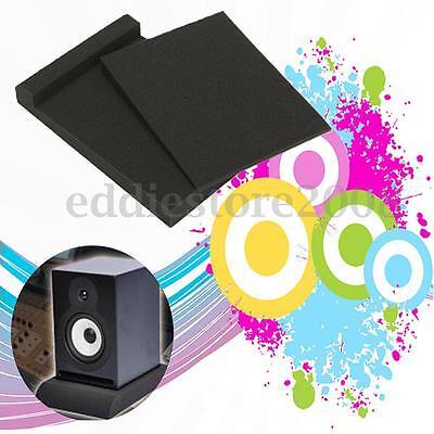 "12""x8""x2""  Studio Monitor Speaker Acoustic Isolation Isolator Foam Sponge Pad"