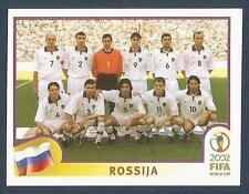 PANINI KOREA/JAPAN WORLD CUP 2002- #524-RUSSIA TEAM PHOTO
