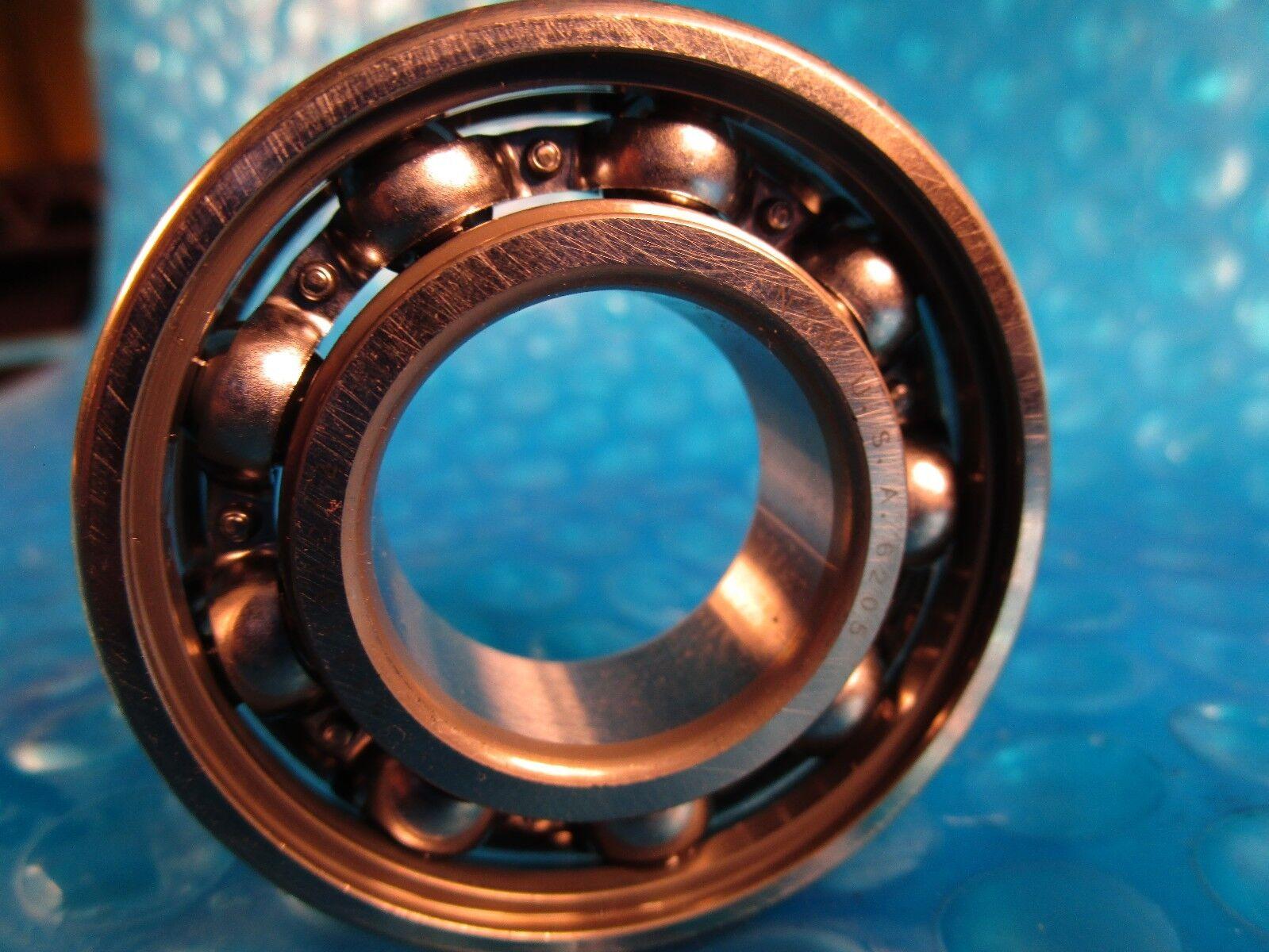 1 pcs NTN 6205U single row ball bearing open made in japan ships free new