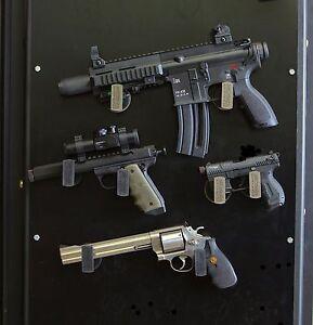 Image Is Loading Magnetic Gun Safe Door Pistol Mounts FREE SHIPPING