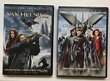 2 DVD LOT~VAN HELSING~HUGH JACKMAN~THE X-MEN~THE LAST STAND~FULL SCREEN