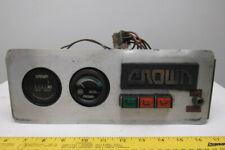 Crown 45rrtt S Battery Hour Meter Instrument Panel Narrow Aisle Forklift 36v