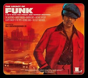 3a0ce830f5 THE LEGACY OF FUNK - TOM BROWNE, KENI BURKE, THE JONES GIRLS - 3 CD ...