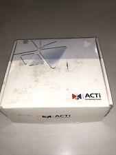 Acti Ip Camera Acm 5611 13mp Box Camera Dn Lens Used