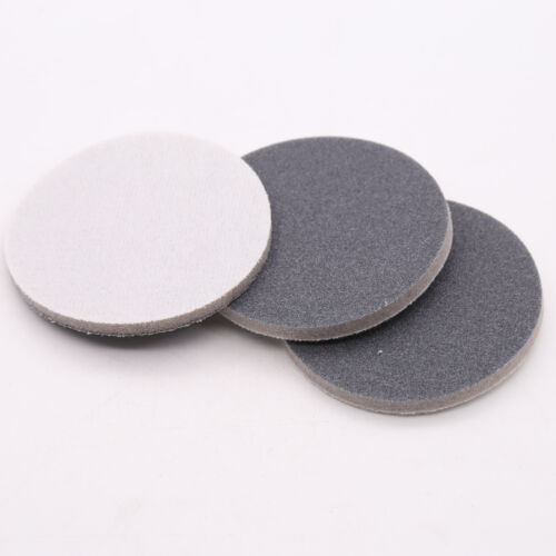 Sponge Foam Hook /& Loop Sandpaper 300#-3000# Grit Wet and Dry Sanding Pad Disc
