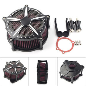 Air-Cleaner-Intake-Filter-for-Harley-Dyna-Softail-Fatboy-Touring-Glide-FLHT-FLHR