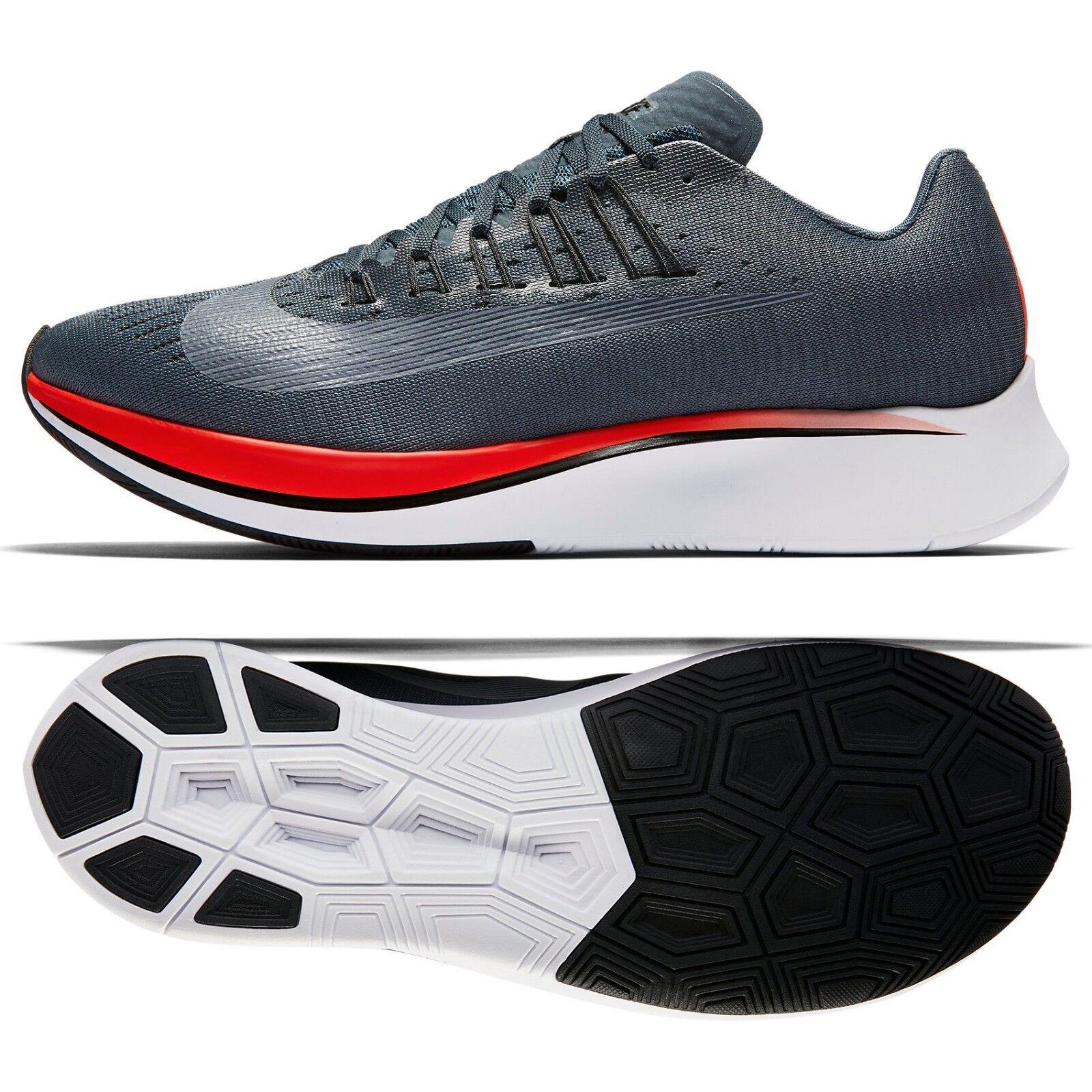 Nike Zoom Fly 880848-400 Blue Fox/Nero/Bright Crimson Uomo Running Shoes
