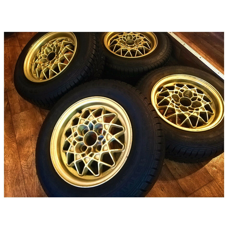 "4x100 13"" ET33 BBS MAHLE Old school wheels"