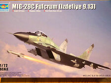 Trumpeter 1:72 MiG-29C Fulcrum (Izdeliye 9.13) Aircraft Model Kit