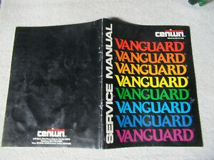 VANGUARD-CENTURI-arcade-game-manual