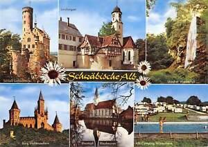 Gg12389 Schwaebische Alb Schloss Lichtenstein Burg Hohenzollern Blautopf Camping Ebay