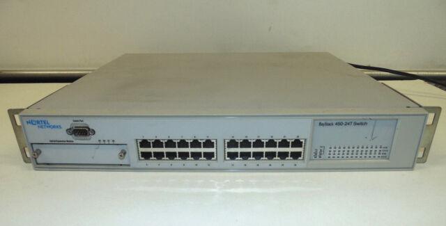 Nortel BayStack 450-24T - Switch 24 ports 10/100