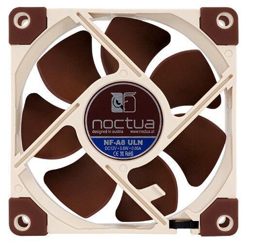 Noctua NF-A8 ULN 80mm 1400 RPM caja ventilador - Beige, marrón