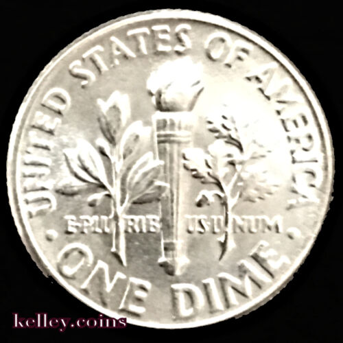 1947 10C Roosevelt Silver Dime BU