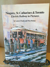 SIGNED Niagara St Catharines and Toronto Electric Railway in Pictures Trains