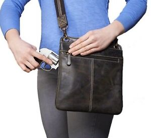 cb4b26a278f Details about Gun Tote'n Mamas GTM CZY-01 Vintage Crossbody Conceal Carry  Purse Hobo Clutch