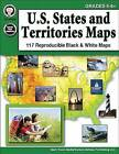 U.S. States and Territories Maps, Grades 5 - 8 by Mark Twain Media (Paperback / softback, 2016)