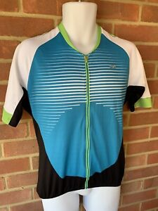 SUGOI Trail Cycling Jersey Mens Glacier Blue Large *REF188