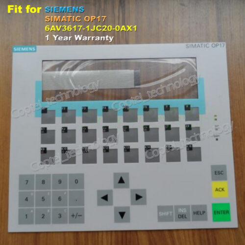 for SIEMENS SIMATIC OP17 6AV3617-1JC20-0AX1 Membrane Keypad 6AV3 617-1JC20-0AX1