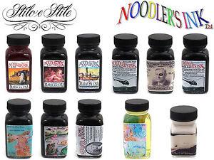 Noodler-039-s-Fountain-Pen-Ink-Inchiostro-per-Penne-Stilografiche-All-colors