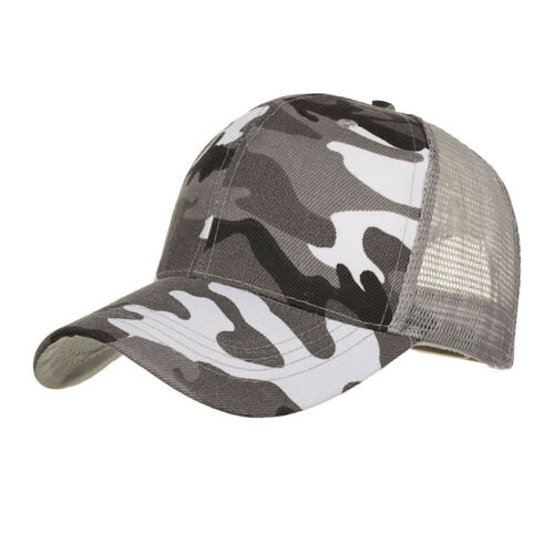 Camouflage Summer Cap Mesh Hats For Men Women  Casual Hats Hip-Hop Baseball Caps