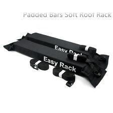 Barras universal acolchado suave Baca coche tabla de Surf Kayak transporte de equipaje