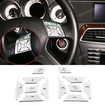 Silver Car Trunk Cargo Light Decoration Cover For Benz C E GLK CLS ML GL-Class