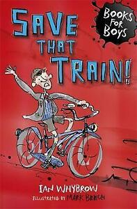 Save-that-Train-Book-12-Books-for-Boys-Whybrow-Ian-Acceptable-FAST-Deli