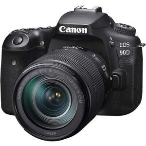 Canon EOS 90D Kit 18-135 IS USM (Nuevo con Garantía)
