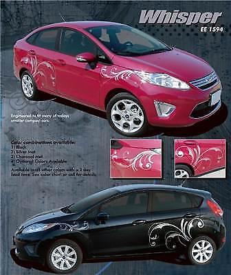 Ford Fiesta 4-5 Door Graphics Kit Decals Trim EE1594 //// Emblems 2010-2013