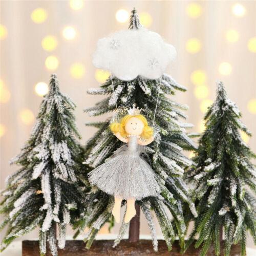 Christmas Angel Doll Ornaments Xmas Tree Pendant Hanging Home Window Decoration