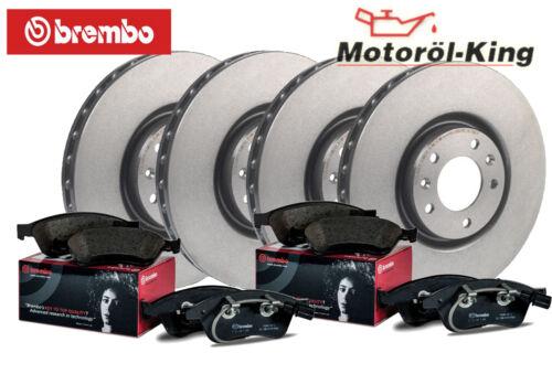 BREMBO Bremsenset für AUDI A4 Hinten 245MM Vorne 288MM 8D2, B5