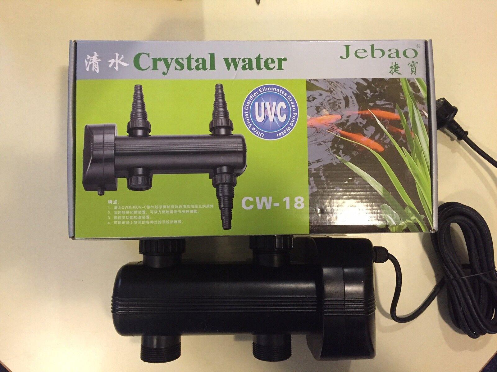 Rendimiento dispositivo 18 vatios, rendimiento nítido bomba estanque filtro de estanque,