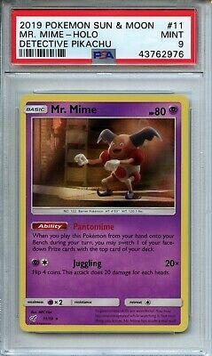 Mr Mime Holo Rare Pokemon TCG Detective Pikachu Set 11//18 Mint//NM
