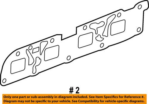 GM OEM-Engine Intake Manifold Gasket 12622668