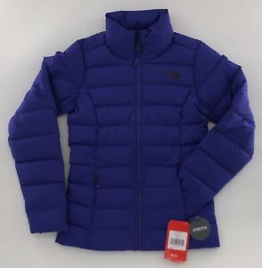 The-North-Face-Women-039-s-Hike-Stretch-Down-Jacket-Deep-Blue-NWT-Size-Extra-Small