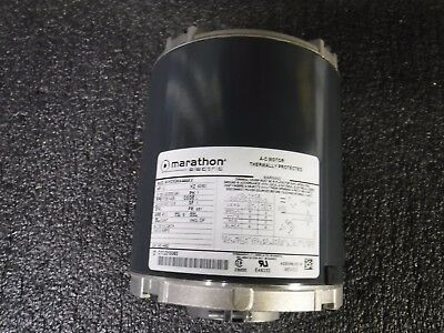 Marathon 1//3 HP Split-Phase Carbonator Pump Motor MG 1725 Nameplate RPM,