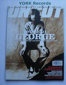 UNCUT-MAGAZINE-Issue-57-February-2002-George-Harrison-Ron-Wood-Americana
