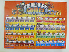 Skylanders Poster Print Giants Collectors Guide 24 X 18 Activision All Character