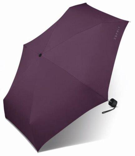 ESPRIT Petito Regenschirm Accessoire Deep Purple Violett Neu