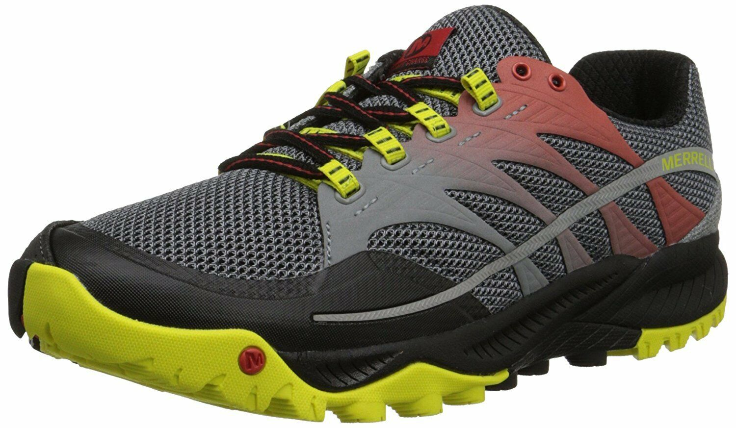 official photos c3160 d72c2 Merrell Men s All Out Charge Trail Running shoes Molten Lava Yellow 8.0M  Size nniatu1585-Athletic Shoes