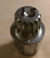 4 Vw & Audi Wheel Lock Key, With Fifteen Splines