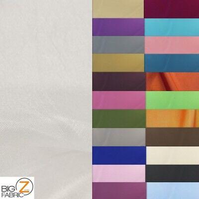 "SOLID//PLAIN POLYESTER TAFFETA FABRIC -Royal Blue-Sold BTY-Silk-Cotton 60/"" WIDTH"