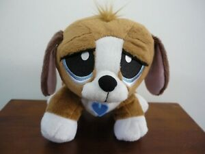 RESCUE-PALS-Pet-Mechanical-Light-Up-Puppy-Sounds-Dog-Soft-Plush-Toy-With-Collar